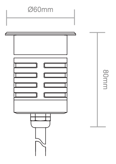 LLGL30 Line drawing