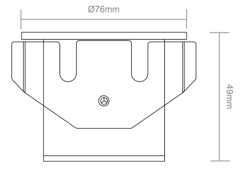LLGL40 Line Drawing