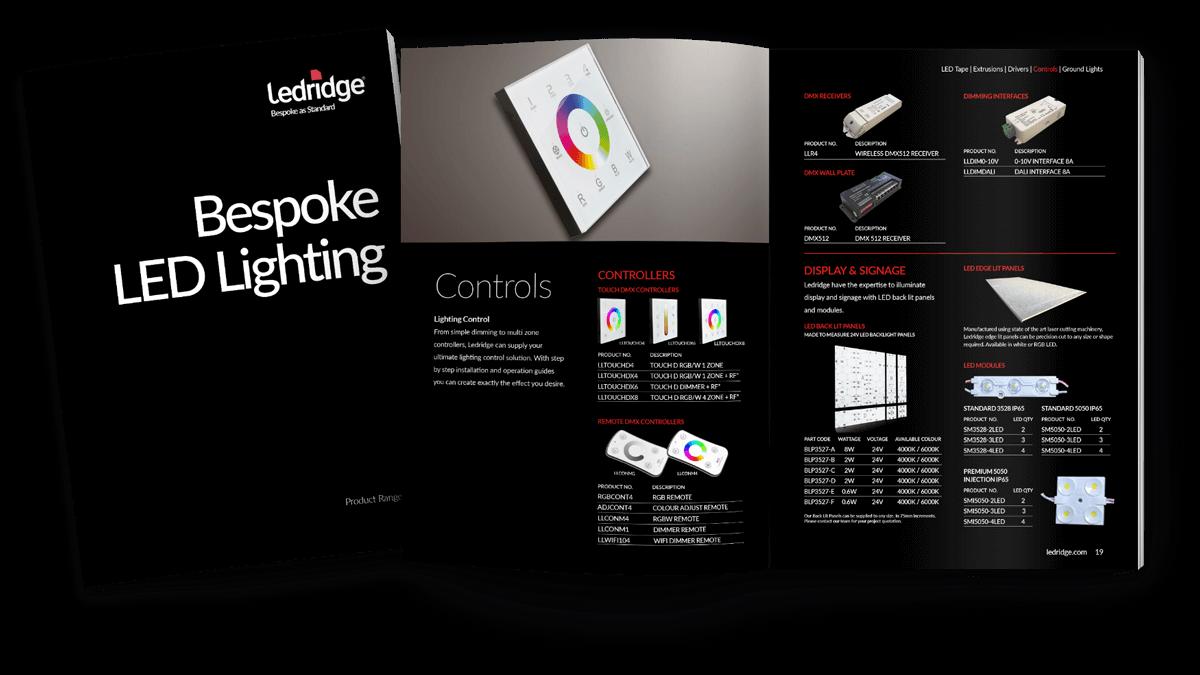 Ledridge product catalogue